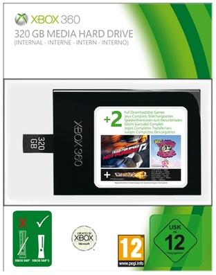 Xbox 360 : De nouveaux jeux pour le disque dur de 320 Go