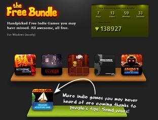 Free Bundle: 6 jeux indés gratuits