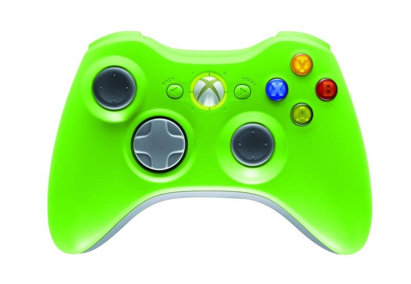 pad xbox 360 vert