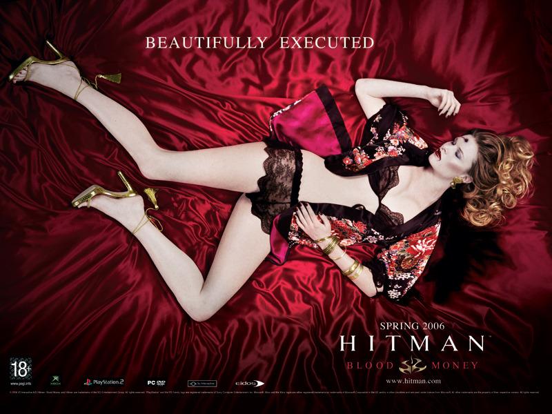 Hitman Blood Money 2006 Hitman Movie Poster Controversy