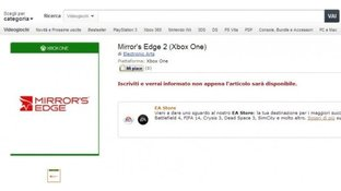 Mirror's Edge 2 à nouveau listé chez Amazon...