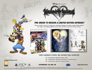 Kingdom Hearts HD 1.5 Remix : Date et précos en Europe