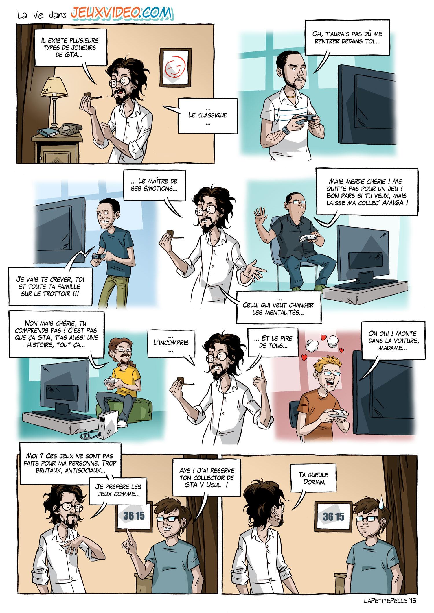 LaPetitePelle dessine jeuxvideo.com - N°6