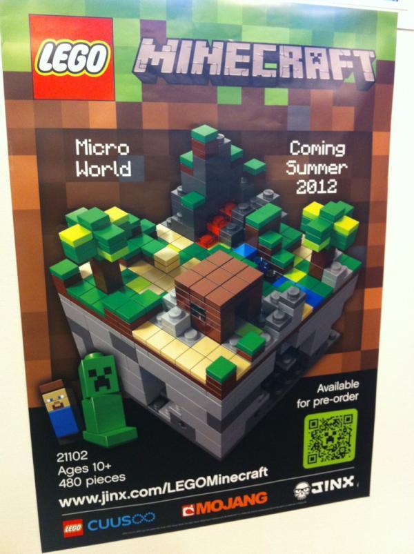 les lego minecraft arrivent. Black Bedroom Furniture Sets. Home Design Ideas