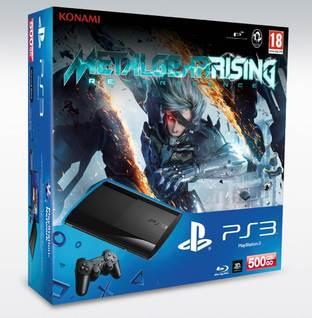 Metal Gear Rising: Revengeance en bundle avec une PS3