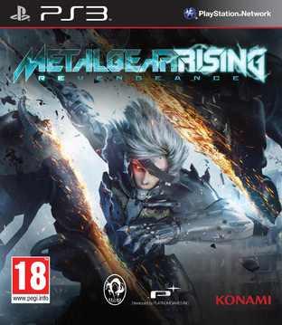 Metal Gear Rising a sa jaquette