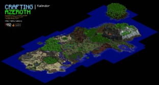 L'univers de WoW recréé dans Minecraft !