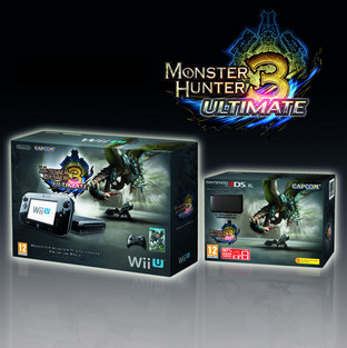 Monster Hunter 3 Ultimate en bundle avec une Wii U ou une 3DS