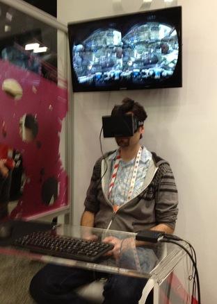 L'Oculus Rift à l'essai