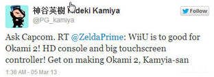 Platinum Games voudrait un Okami 2