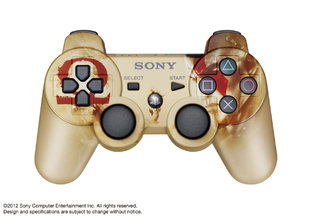 Un pad PS3 God of War au Japon