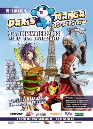 Le programme du Paris-Manga & Sci-Fi Show