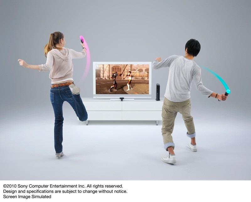 nouveauté le playstation move jouer sans fil avec la gestuelle comme sur la wii