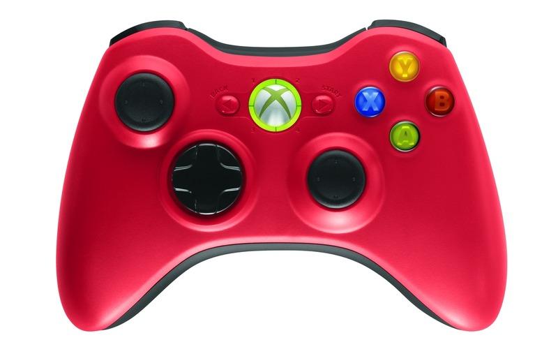 pad Xbox 360 rouge