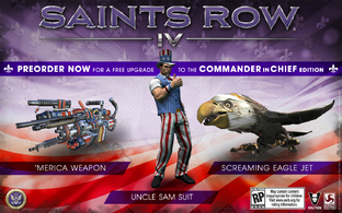 Saints Row IV : L'édition Commander in Chief