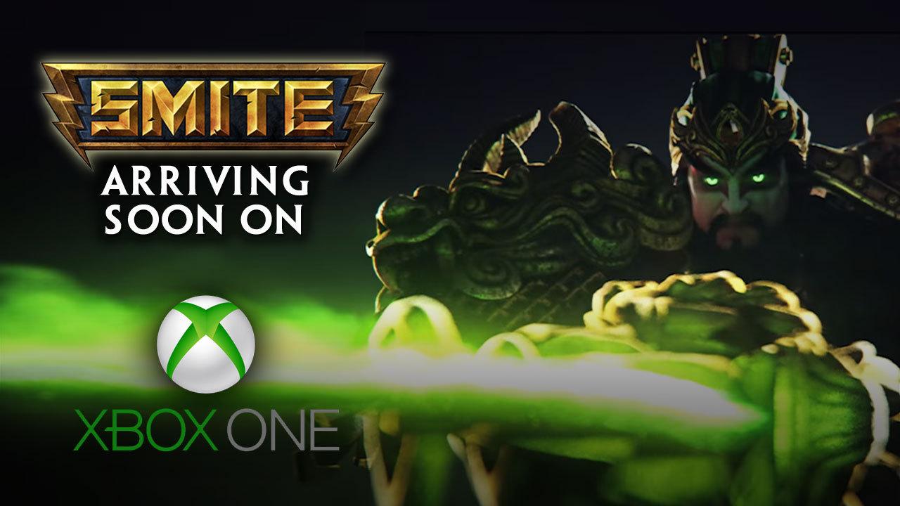 Trailer d'annonce de SMITE sur Xbox One