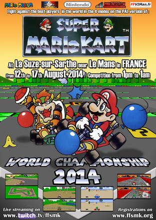 Le championnat du monde Super Mario Kart de retour en 2014