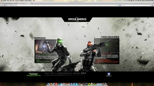 "Splinter Cell Blacklist : Un site Internet pour ""jouer"""