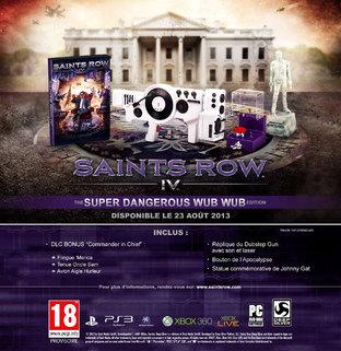 Une édition collector pour Saints Row 4