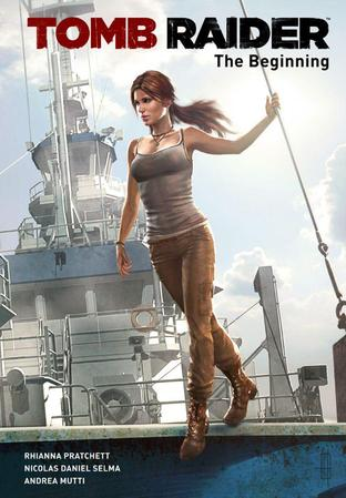 Tomb Raider : Un comic book pour accompagner sa sortie