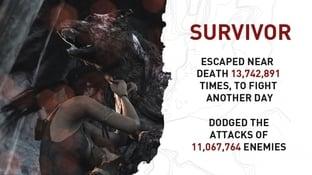 Tomb Raider: Les statistiques aprè