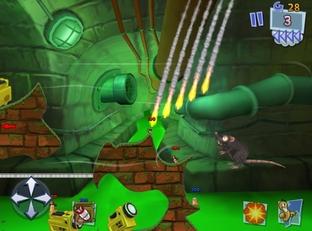 Worms 3 annoncé sur iPhone et iPad !