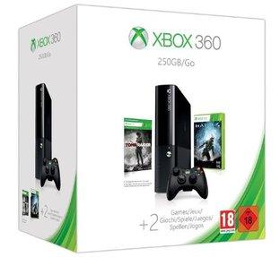 Un pack 360 avec Tomb Raider et Halo 4 à 249,99 €