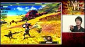 Making of : Monster Hunter 4 - Satoshi Inoue découvre le jeu - 2ème Partie