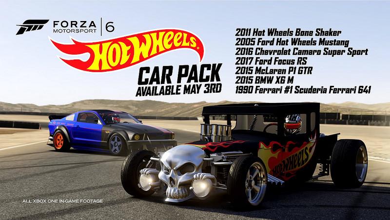 8e431f86f0 Bande-annonce Forza Motorsport 6 - Hot Wheels Pack : faites vivre vos  petites voitures ! - jeuxvideo.com