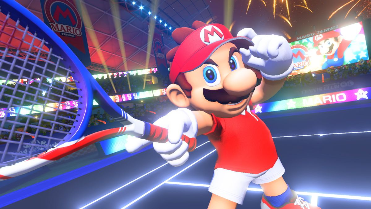 mario tennis aces test