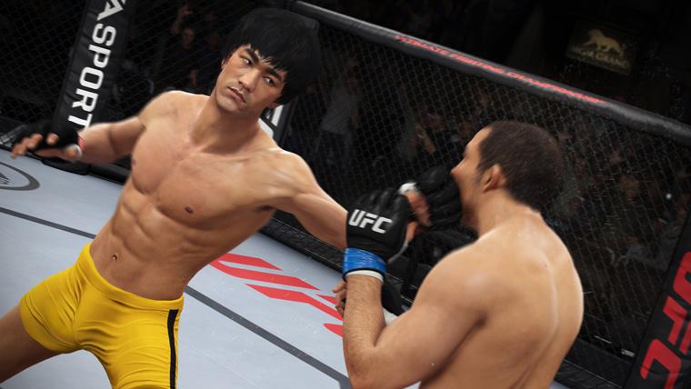 Bruce Lee disponible gratuitement dans EA Sports UFC