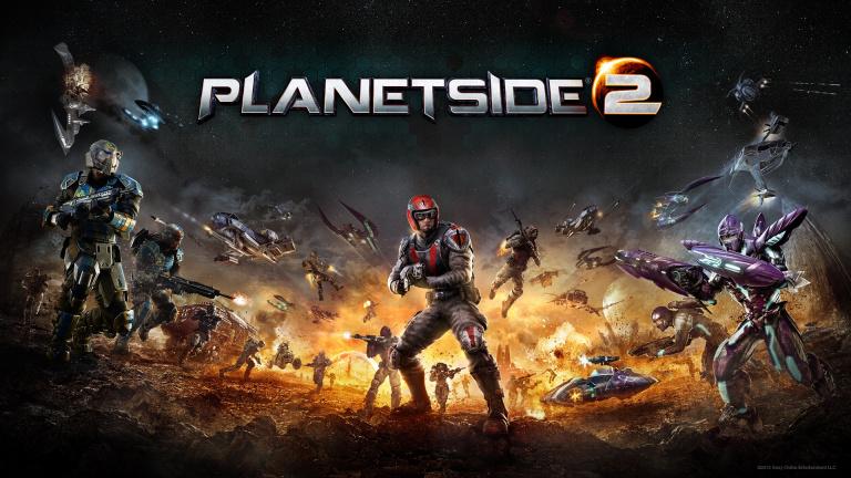 PlanetSide 2 : L'entrée en bêta PS4 pour janvier 2015