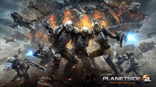 PlanetSide 2 : Une bêta fermée sur PS4 le 20 janvier