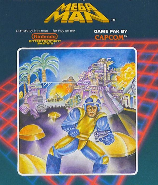 "Mega Man : Une figurine ""Bad Box Art Mega Man"""