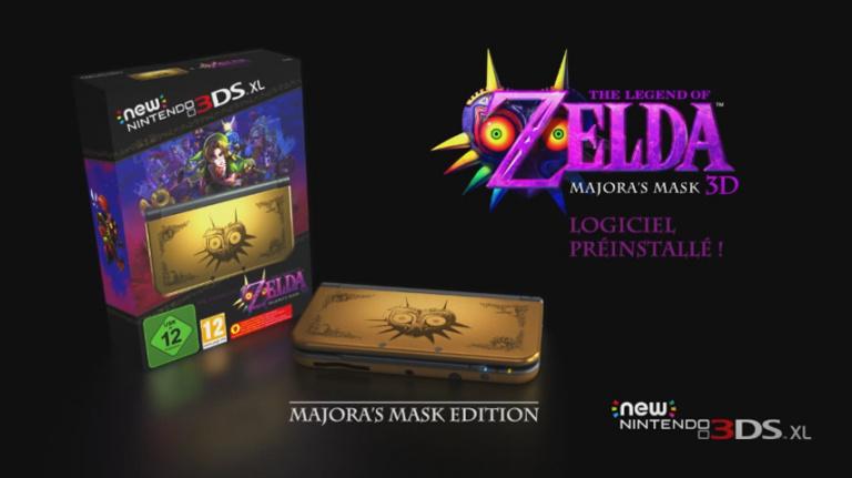 Date de sortie de Majora's Mask 3D