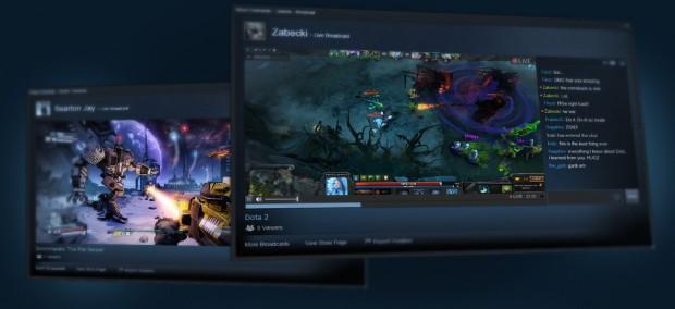 Steam : Le compteur et le streaming sont là