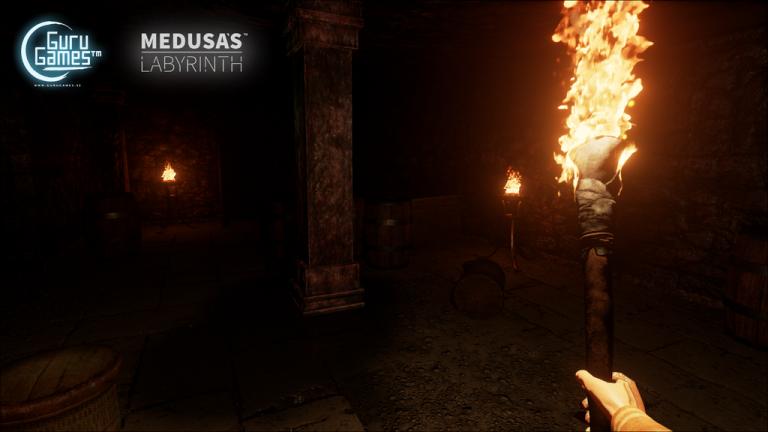 Medusa's Labyrinth : Confrontez Méduse avec l'Oculus Rift