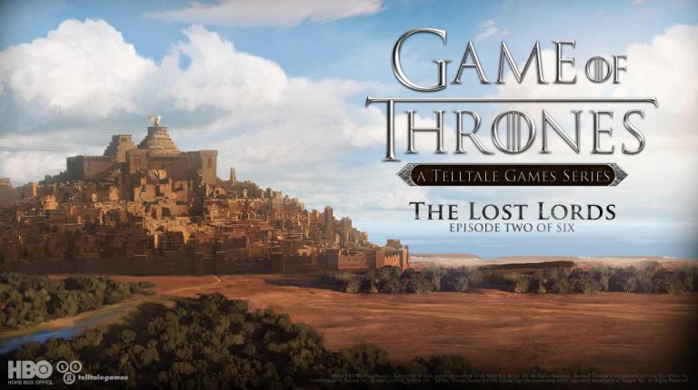 Une date de sortie pour Game of Thrones : Episode 2