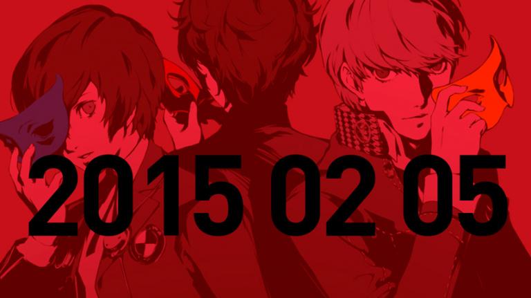 Des infos sur Persona 5 le 5 février