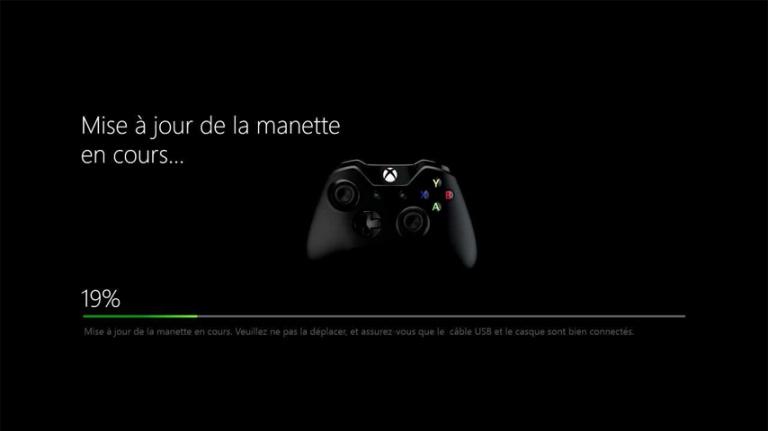 Une mise jour du pad xbox one actualit s - Comment connecter manette wii a la console ...