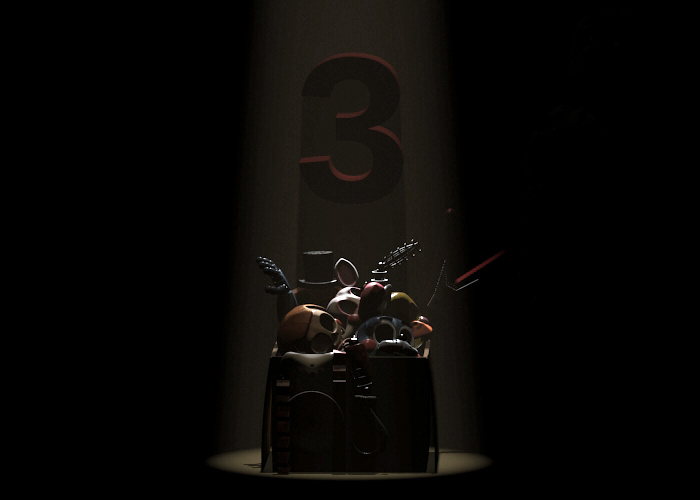 Un premier teaser pour Five Nights at Freddy's 3