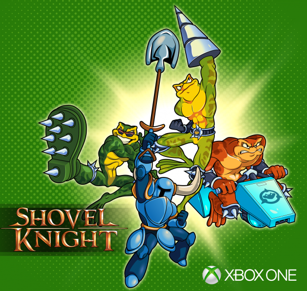 Les Battletoads s'invitent dans Shovel Knight sur Xbox One