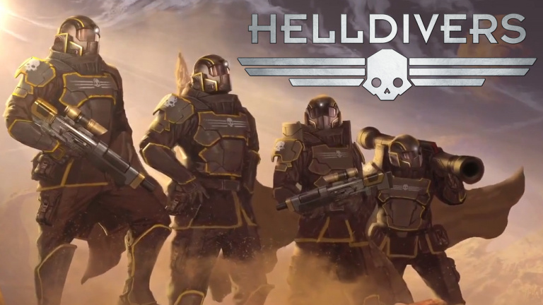 Helldivers : Un Twin-stick shooter aux faux airs de Starship Trooper