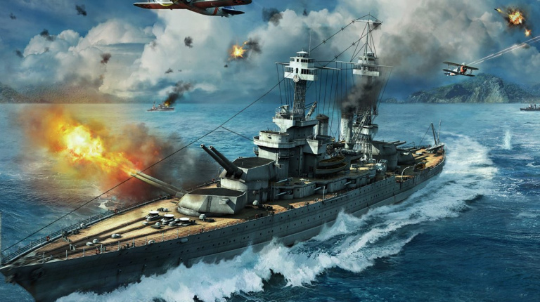 World of Warships : La bêta fermée débute aujourd'hui