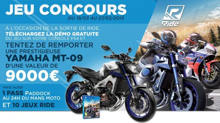 Ride : Micromania offre une moto au meilleur temps sur la démo !