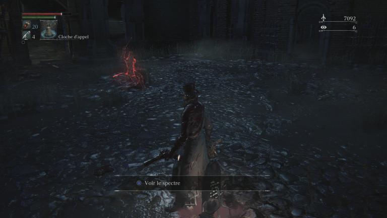 Bloodborne, né dans le sang, mort dans le sang...