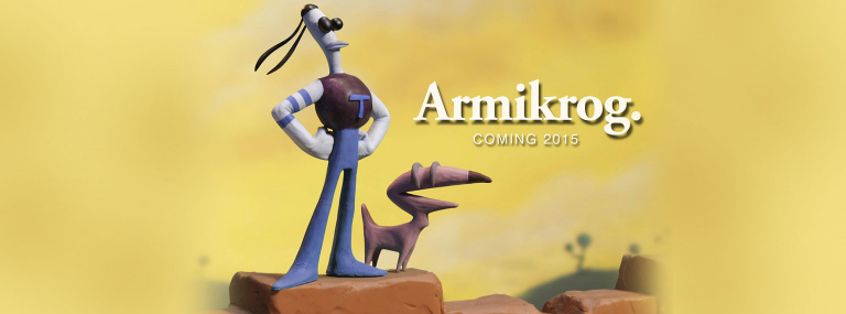 Armikrog, le point and click en pâte à modeler