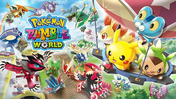 Pokémon Rumble World annoncé sur 3DS... pour le 8 avril !