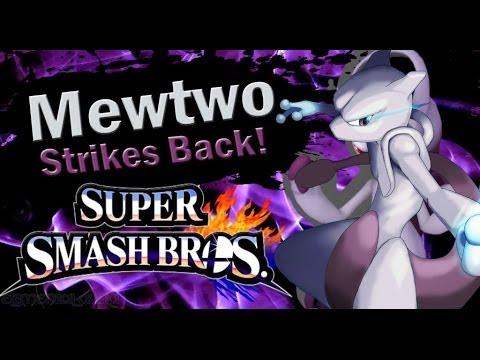 Mewtwo dans Super Smash Bros. 4 : Comparaison avec la version SSB Melee