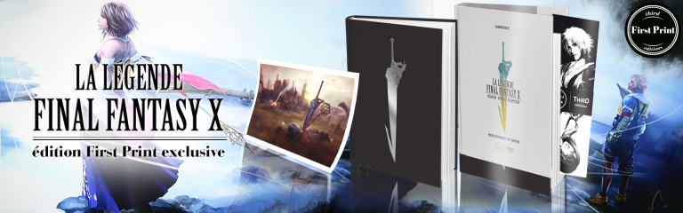 La Légende Final Fantasy X chez Third Editions